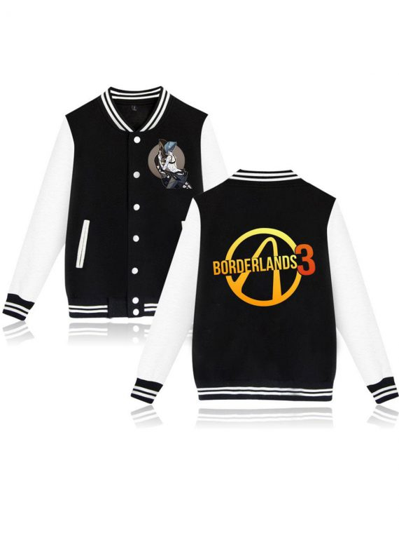 2019 new Borderlands 3 Baseball Jacket