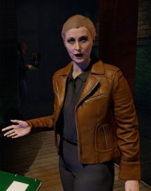 Blood & Truth Anne Marks Leather Jacket