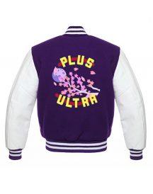 Boku No Hero Academia Plus Ultra Purple Jacket