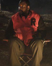 Brian Tyree Henry Atlanta Alfred Miles Red Letterman Jacket
