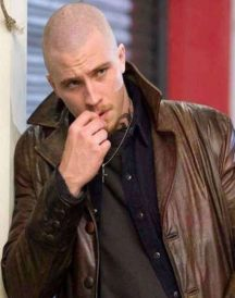 Garrett Hedlund Death Leather Coat