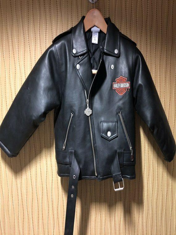 Harley Davidson Kids Leather Jacket