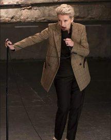Katherine Newbury Late Night Khaki Coat