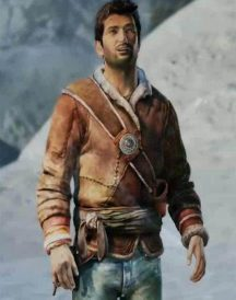 Nathan Drake Uncharted Brown Jacket