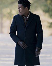 Shameik Moore Let It Snow Wool Coat