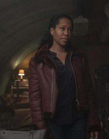Watchmen Angela Abar Brown Jacket