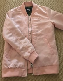Women's Pink Bomber Jacket