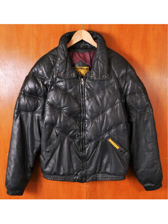 1980s Double Goose Vintage Leather Jacket