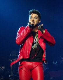 Adam Lambert Concert 2020 Red Jacket