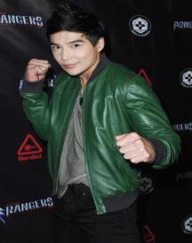 Ludi Lin Power Rangers Jacket
