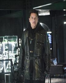 Malcolm Arrow John Barrowman Leather Jacket