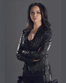 Melissa O Neil Dark Matter Leather Jacket