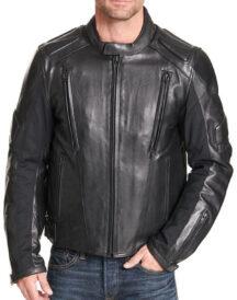Men's Padded Motorcycle Jacket