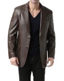 Men's Two-Button Blazer Coat