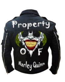 Men Biker Harley Quinn Jacket