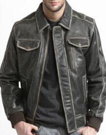 Men Bomber Style Jacket