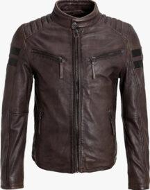 Men Brown Slim fit Jacket