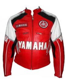 Men Yamaha Leather Jacket