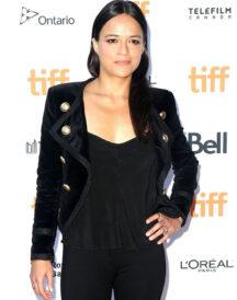 Michelle Rodriguez Premiere Cotton Jacket