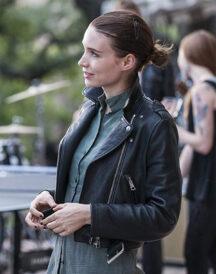 Rooney Mara Song to Song Faye Jacket