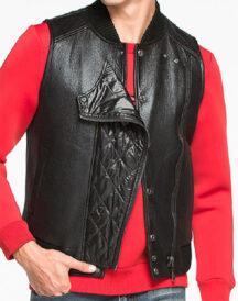 Stylish Design Leather Vest
